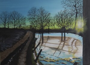 Schilderijen: 5. Bevroren overstroming