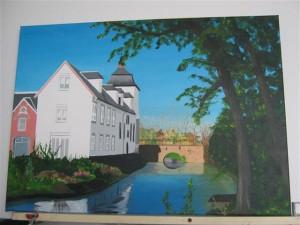 Schilderijen: het kasteel van Stein