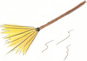 Het sprookje gaat over de be bezem van Heksemientje, een kleine heks die aan de rand van een groot, donker bos woonde.