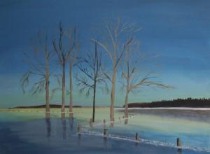Schilderijen: 4. Bevroren overstroming