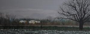 Schilderijen: Winterlandschap Meers