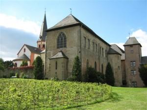 Klooster Steinfeld, niet ver van Bad Münstereifel, is een bezoek meer dan waard.