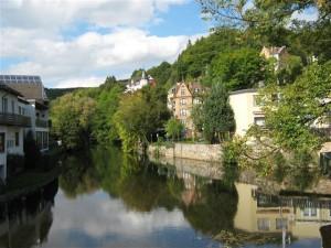 Gemünd, eveneens niet ver van Bad Münstereifel, is een mooi stadje, waar twee riviertjes samenkomen.