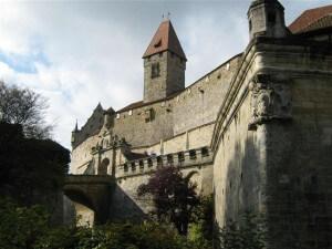 In de buurt van Bad Staffelstein ligt het stadje Coburg met haar monumentale burcht.
