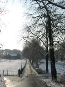 Mooie winterbeelden zijn gelukkig niet duur. Daar kunnen we zonder de dure euro van genieten.