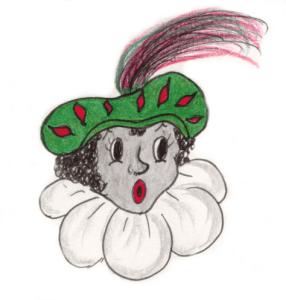 Zwarte Piet is het aardige hulpje van Sinterklaas en verzint alle sinterklaasrijmpjes.