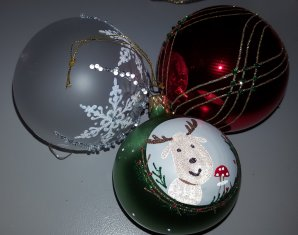 Een kerstcadeau moet liefst wel persoonlijk zijn. Kleuren en onderwerp moeten passen.